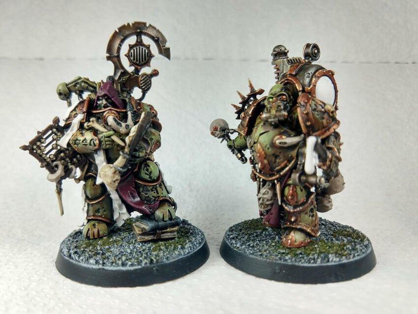 Death Guard Tallyman and Foul Blightspawn (work in progress)
