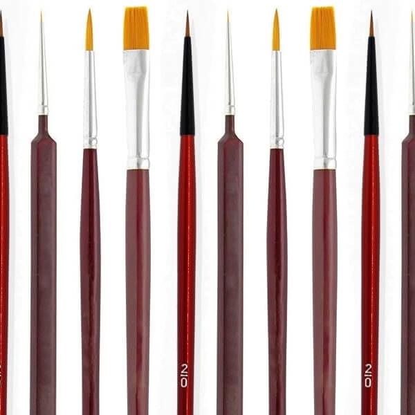 miniature paint brushes