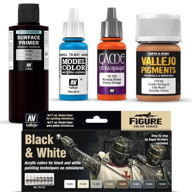 miniature paints and paint sets